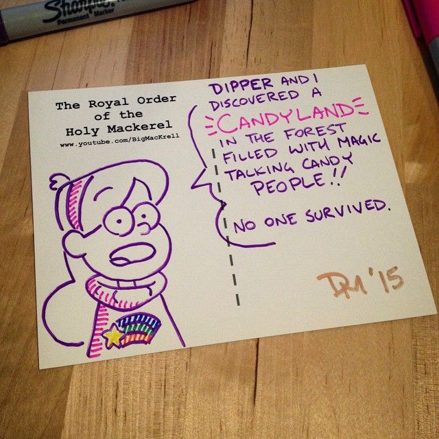 gravity falls | Tumblr <<<< is this a Charlie the unicorn reference?