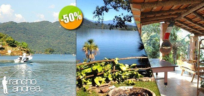 Eco Hotel Rancho Andrea en Cajón de Peñas, Jalisco - $565 en lugar de $1,130 por 1 Día & 1 Noche en Habitación para 4 Personas + Uso Ilimitado de Kayak. Click: CupoCity.com