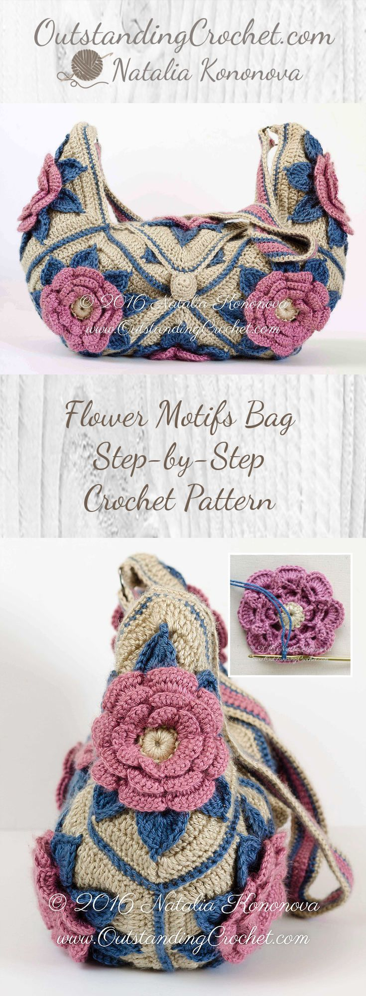 Check it out! Patterns for your outstanding crochet! | Crochet 3 ...