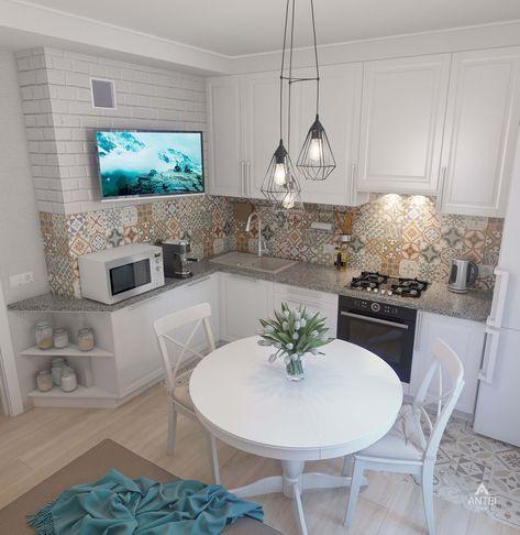 30 schicke kleine Küche Design und Dekor-Ideen, um Ihre Küche zu - kleine küchen ideen
