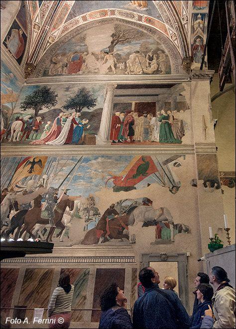 Piero della Francesca, gli affreschi nella Cappella Bacci ...
