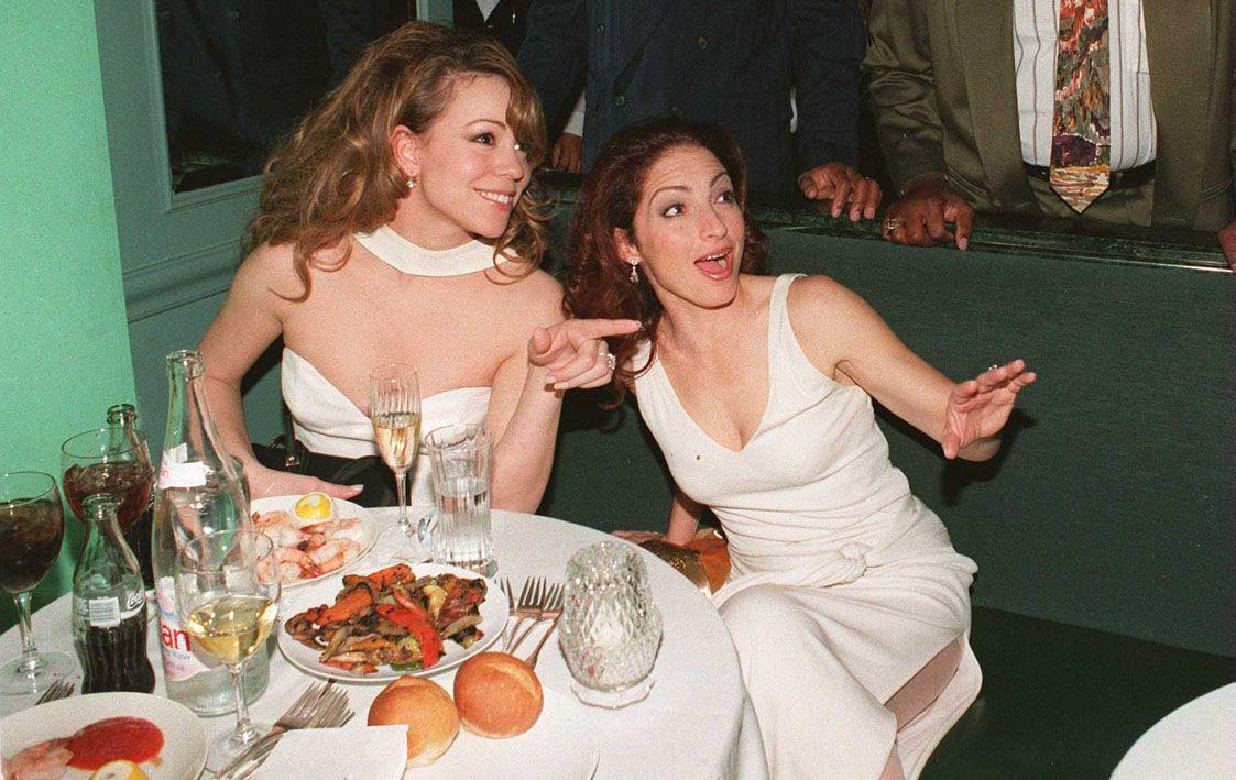 Mariah Carey & Gloria Estefan | MusIcons | Pinterest | The ... Gloria Estefan Family 2013