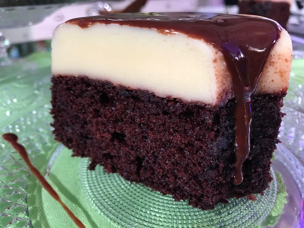 Bolo Pudim De Chocolate Receita Bolo Pudim De Chocolate Doces
