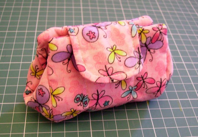 Drawstring makeup bag jewelry bag cosmetic pouch tutorial for Drawstring jewelry bag pattern
