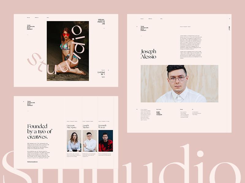 Stuuudio Minimal Web Design Web Design Website Design Inspiration