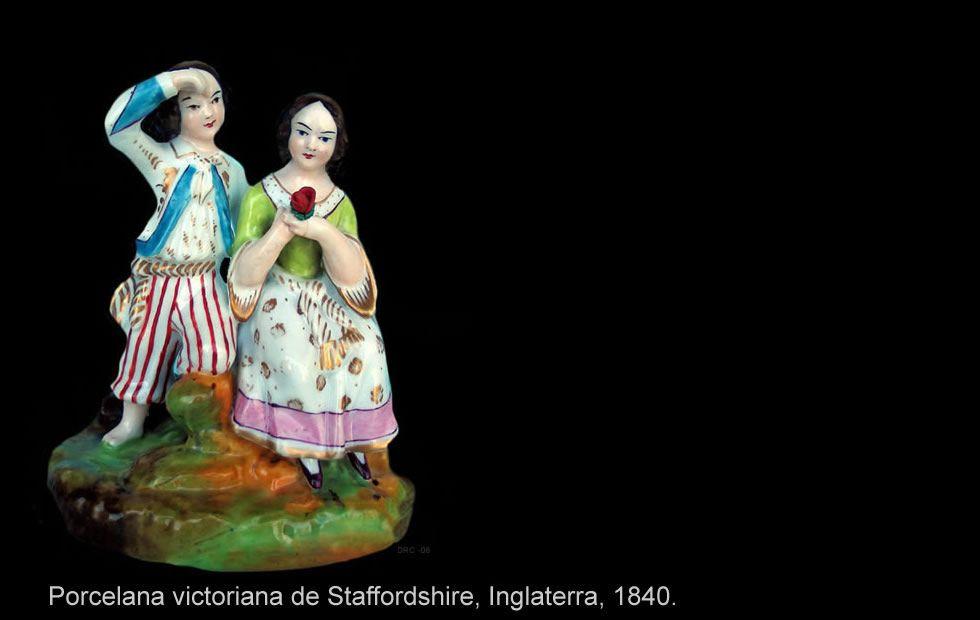 Figura de porcelana inglesa ceramica y porcelana - Porcelana inglesa antigua ...