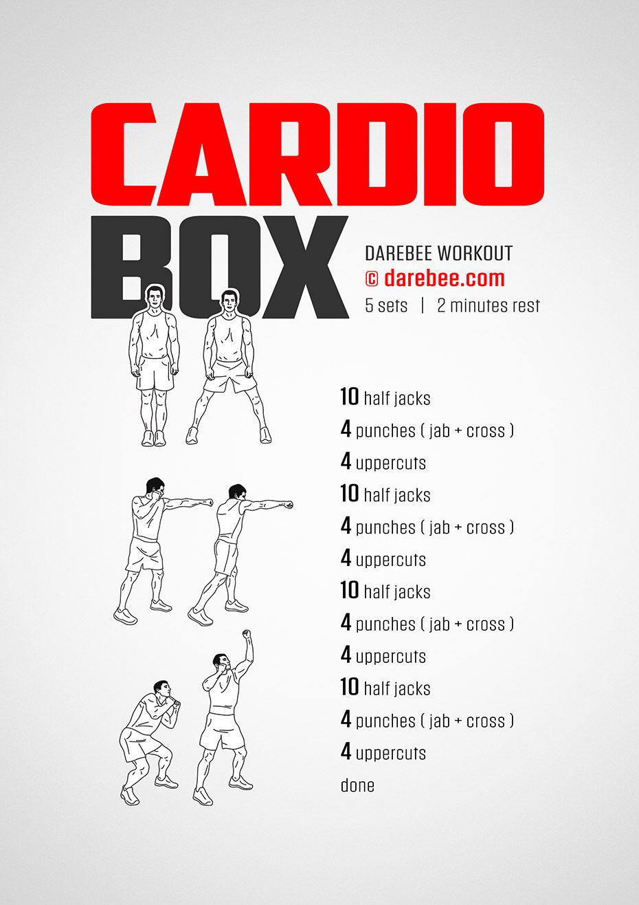 Fitness | Boxing | Pinterest | Cardio, Workout and Box
