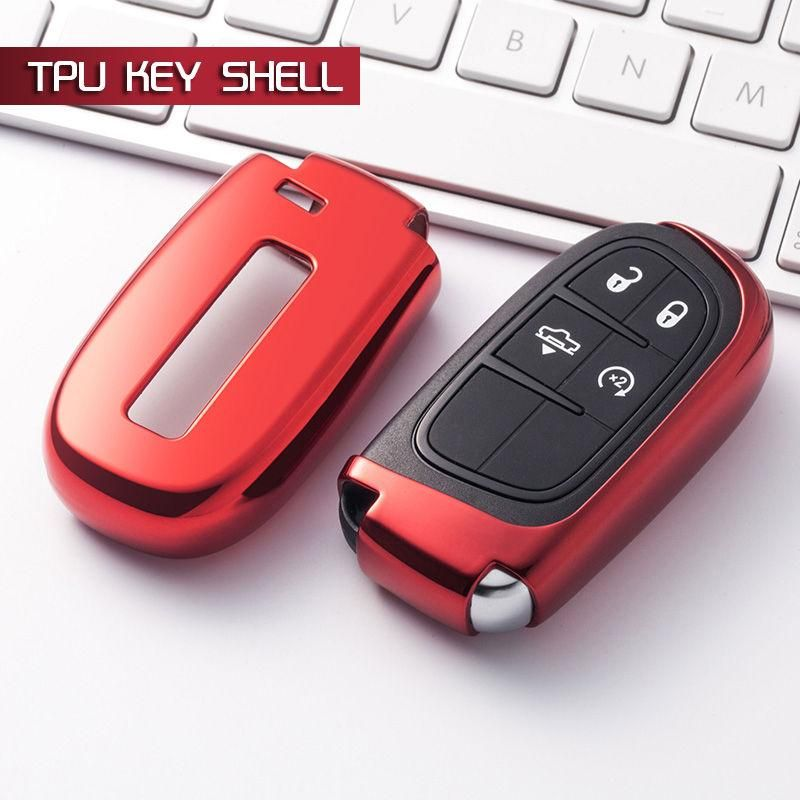 Chrome Car Keyless Entry Smart Key Fob Remote Cover Case Skin
