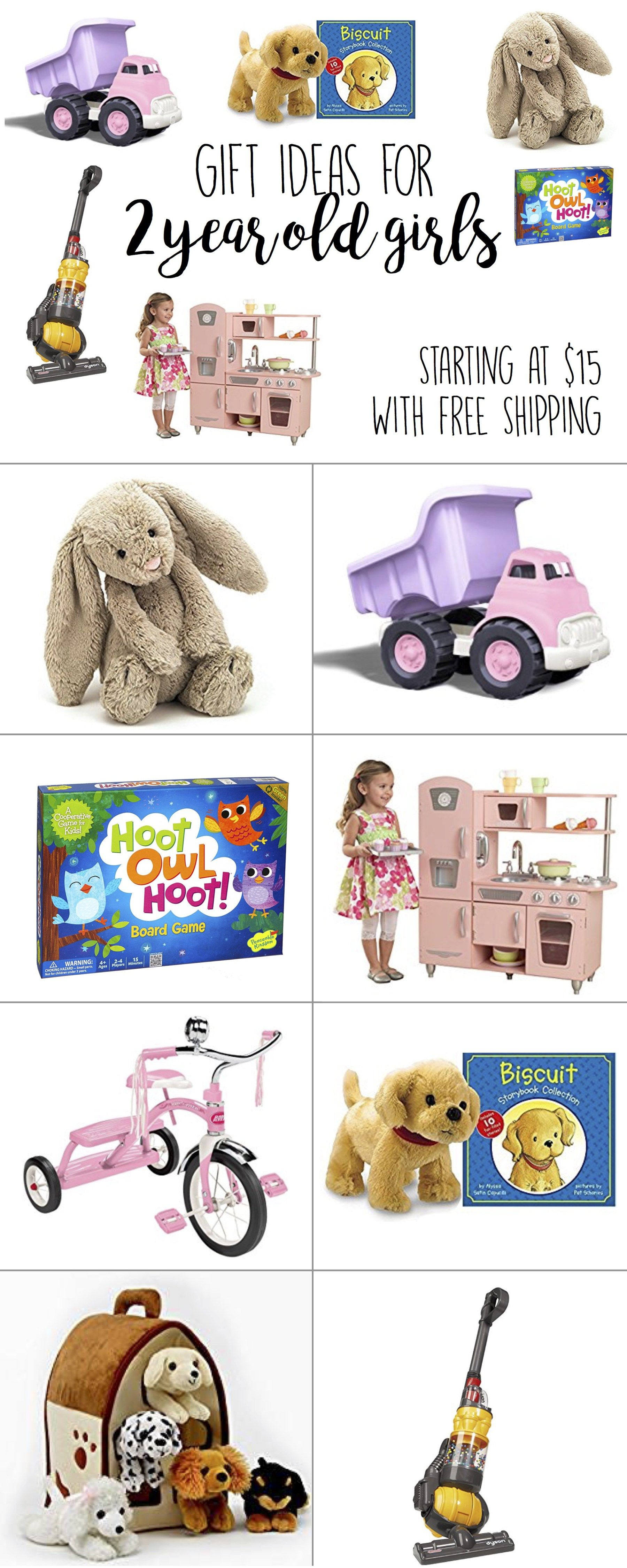 Gifts for 2 Year Old Girls
