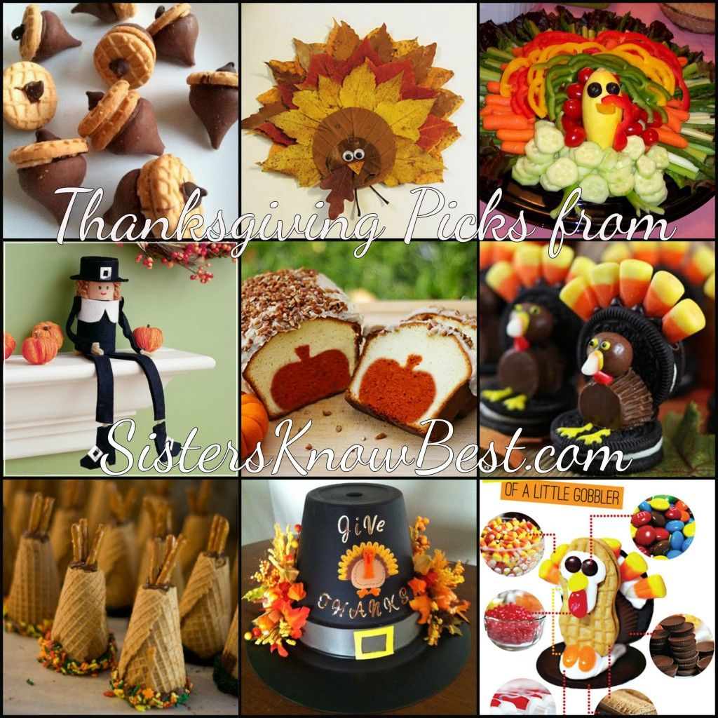 Thanksgiving Crafts and Treats from #SistersKnowBest