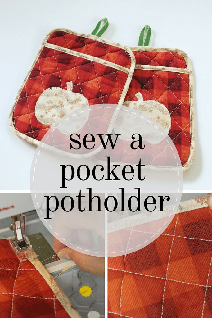 Sew A Pocket Potholder With The Cricut Maker | DIY Community Board ...