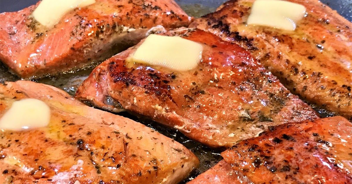 Easy Pan Seared Copper River Wild Salmon & Bubbies Tartar Sauce #searedsalmonrecipes