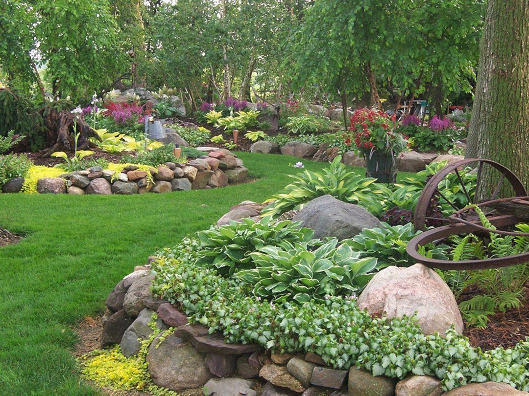 Landscape For Shade Rock Garden Designs Landscape For Shade Rock