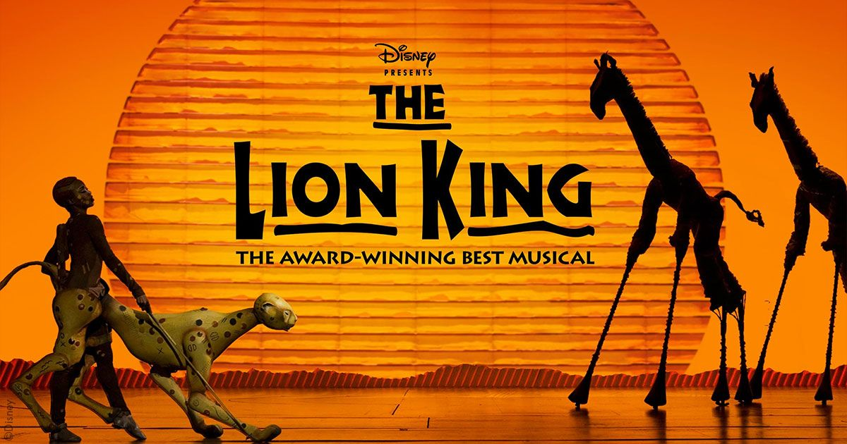large inventory of the lion king vip tickets and