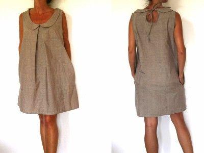 patron de couture t l chargeable avec la vid o du cours de couture robe col claudine et goutte. Black Bedroom Furniture Sets. Home Design Ideas