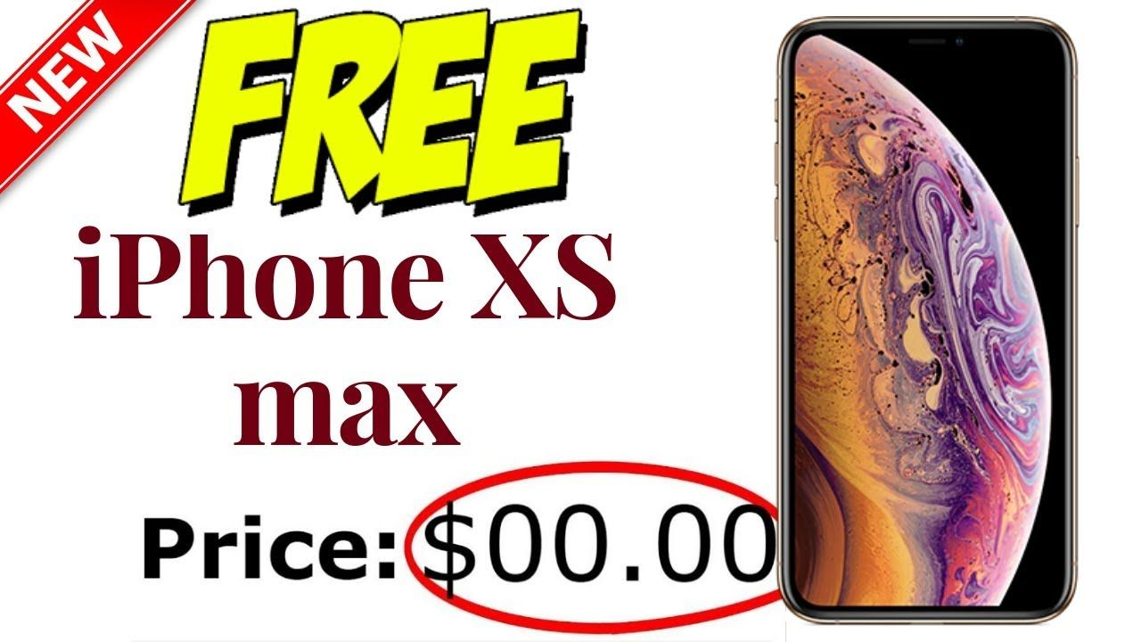 Free iPhone XS max - How To Get Free iPhone XS max▶️ Free iPhone