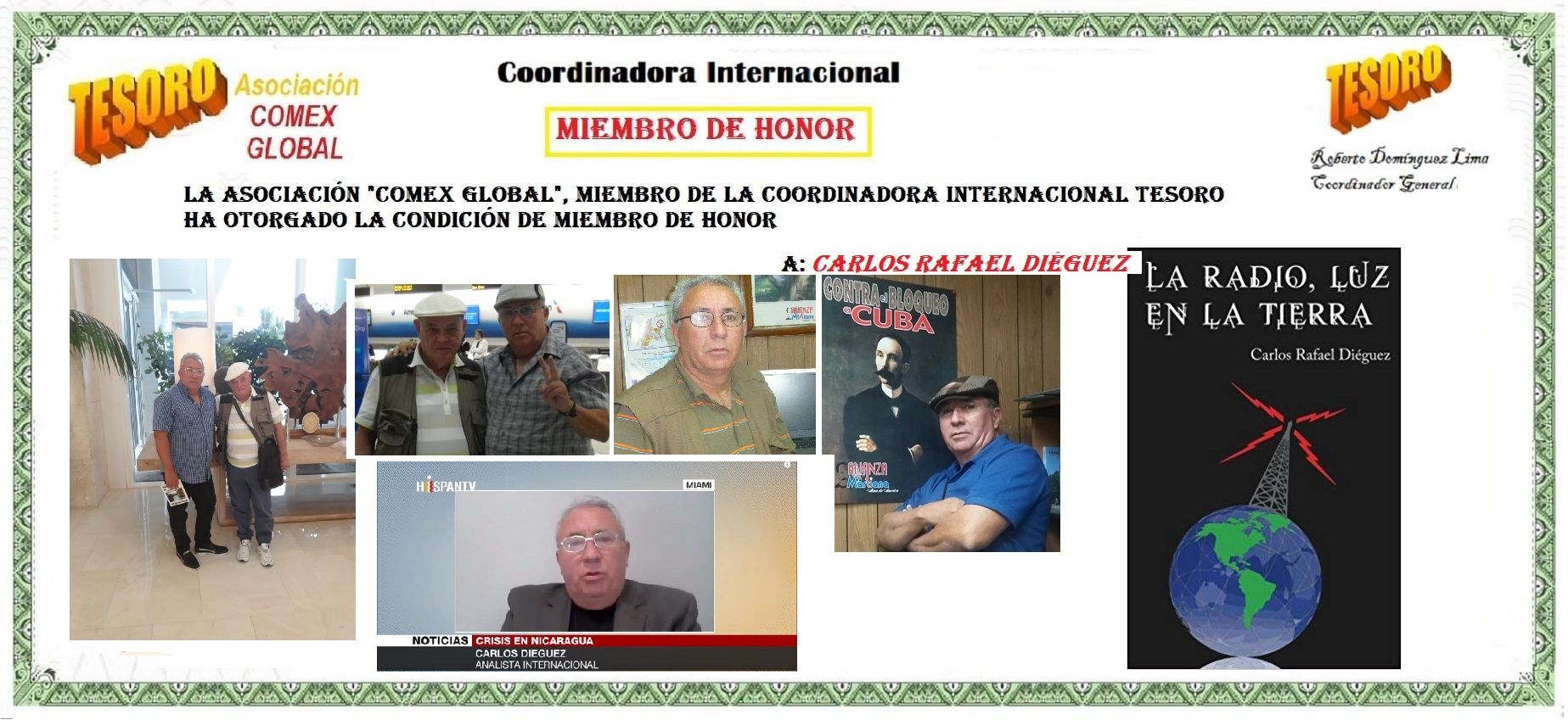 Carlos Rafael Diéguez COMEX Global