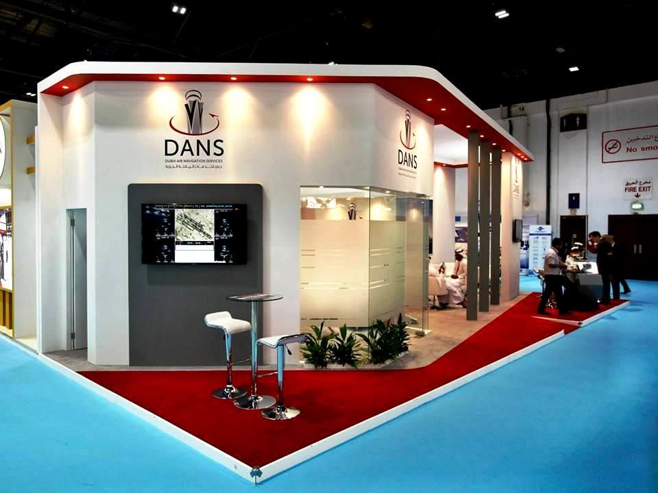 Dubai Air Navigation Services DANS Stand At CABSAT 2015 Helped Raise Awareness Of The