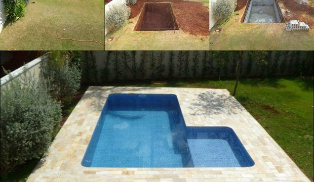 I Would Love To Have One Of These In My Backyard, Seems Simple Enough!  Shows Step By Step Pictures Of How To Make A DIY Underground Pool!