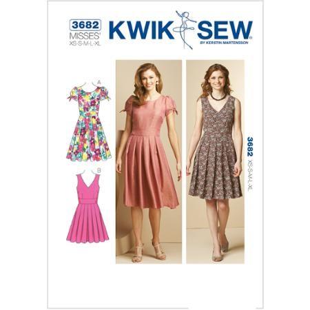 Kwik Sew Pattern Dresses XS S M L XL Pattern At Walmart New Walmart Dress Patterns