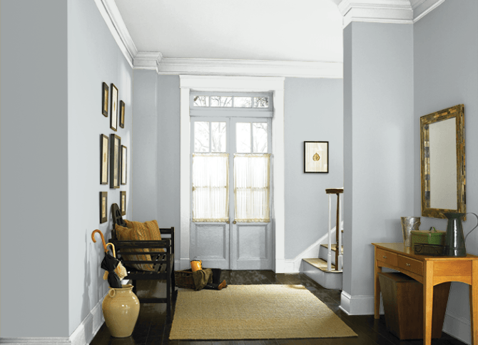 Greyish Blue Paint light french gray - one of the best blue/gray paint colors