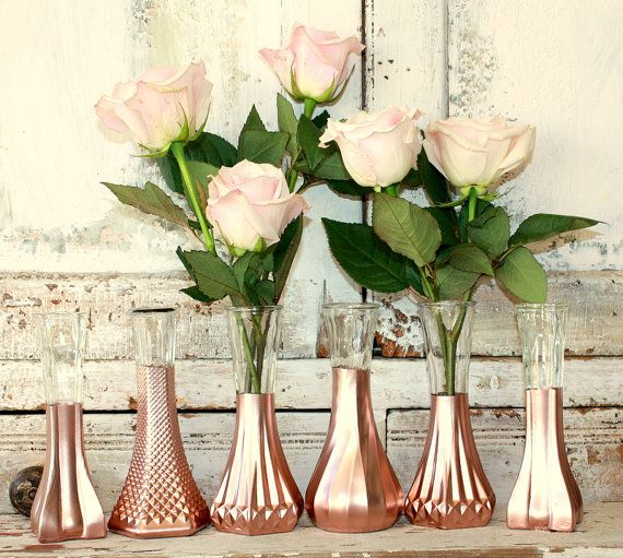 Mariages Or Rose Décoration Mariage Centre De Table Mariage