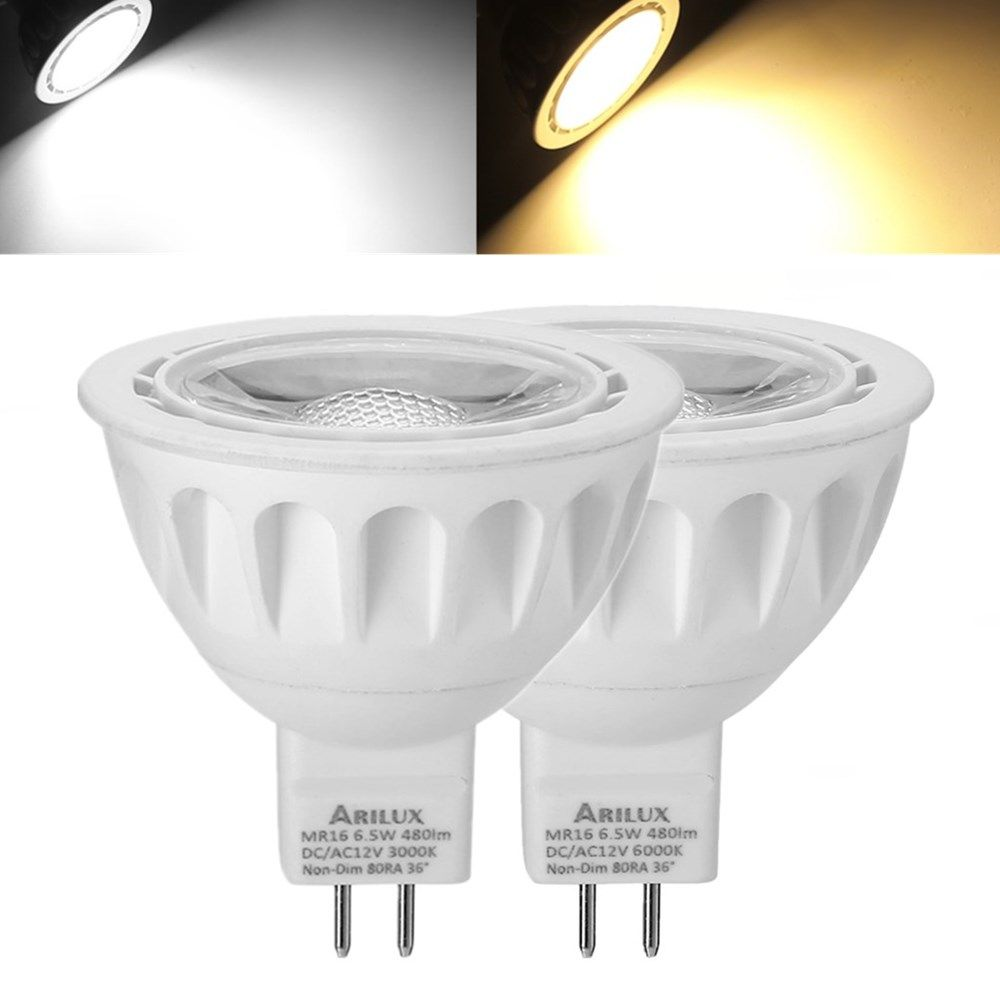 1X 5X 10X ARILUX® MR16 6.5W SMD2835 480LM LED Spotlight Lamp Bulb ...