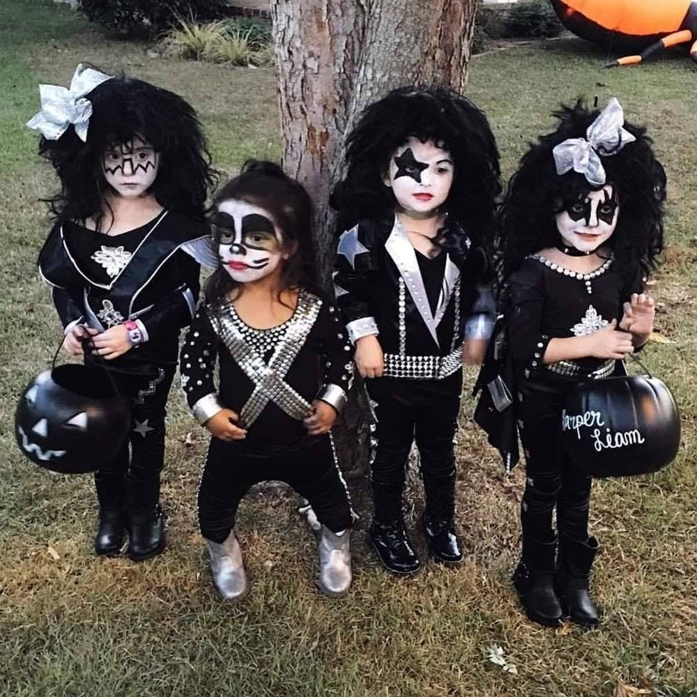 Kiss halloween costumes by Nancy Owens Merenda on