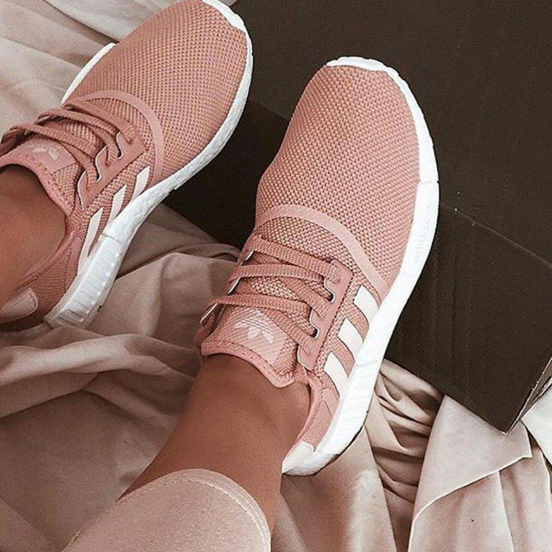 Blush Pink Nikes | Adidas women fashion