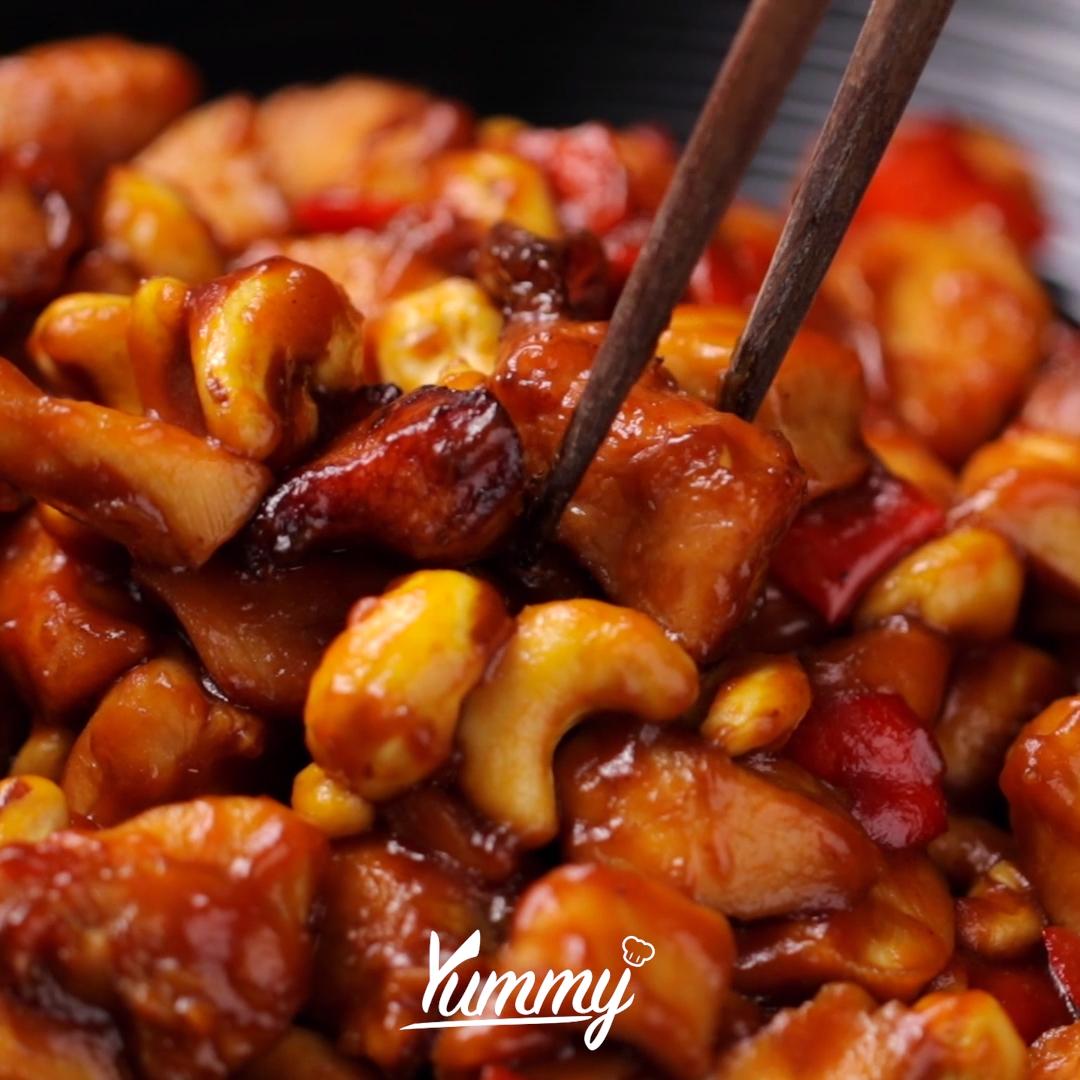 Ayam Kungpao | Yummy - Temukan resep-resep menarik lainnya hanya di:  Instagram: @Yummy.IDN  Facebook: Yummy Indonesia #ayamkungpao #kungpaochicken #chicken