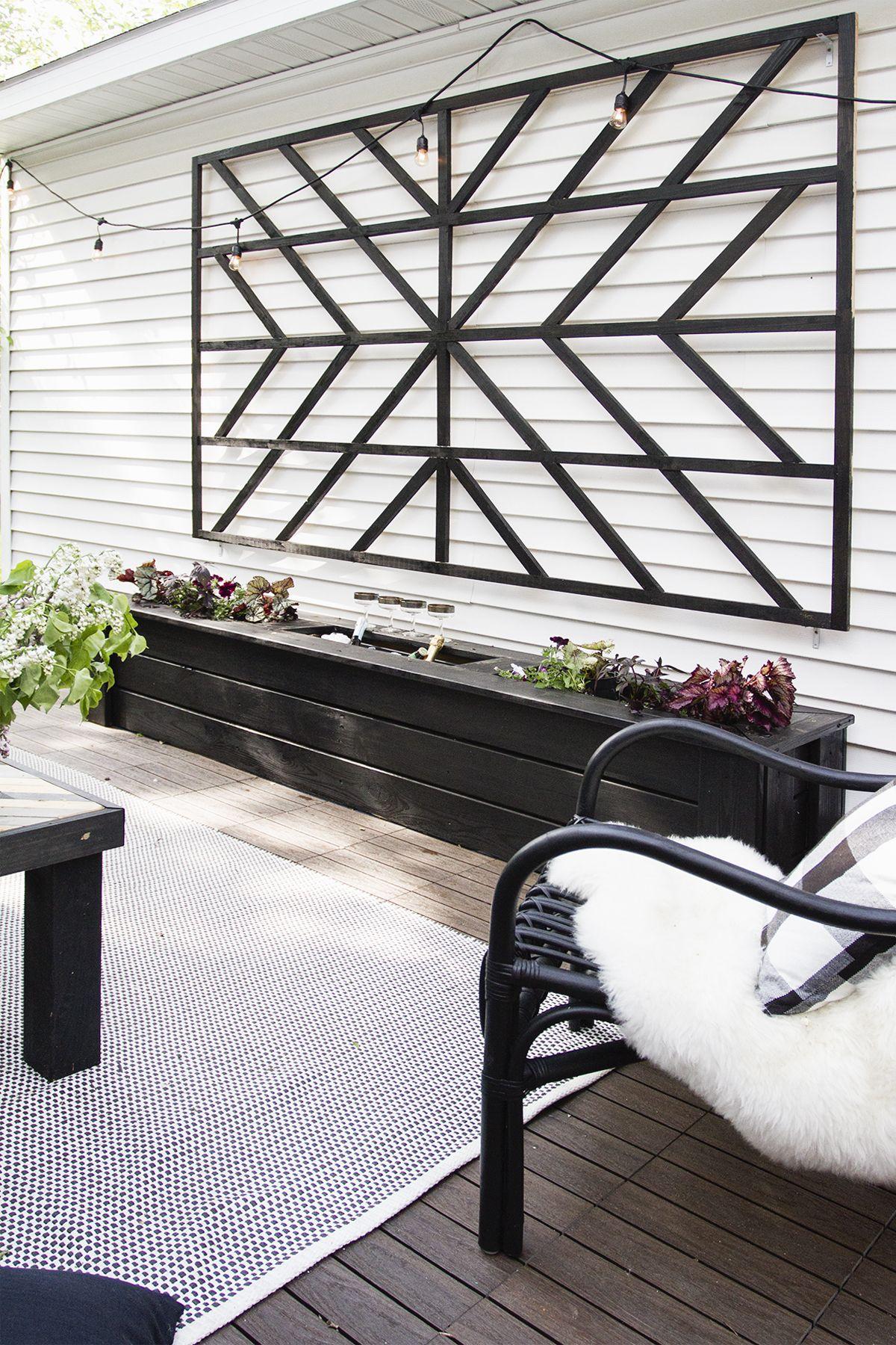 Make This Starburst Trellis Backyard Patio Diy Trellis 400 x 300