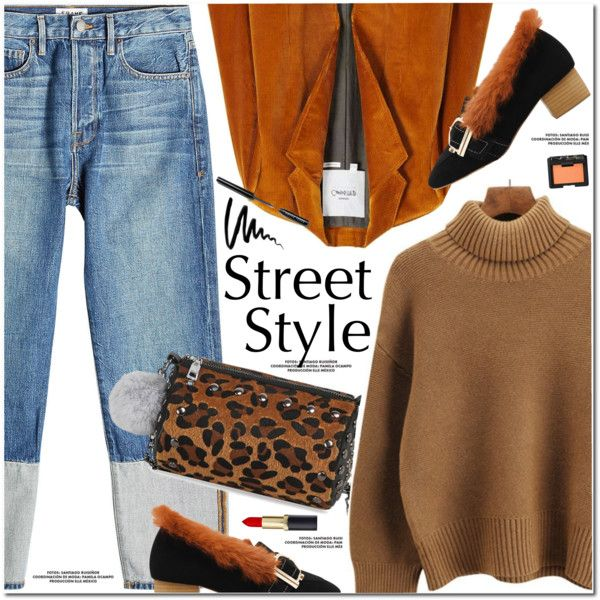 A fashion look from November 2017 by oshint featuring MANGO, Frame ...