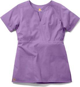 Carhartt Women's Fashion Waist Solid Scrub Top C10401 $22.99 #scrubcouture #carhartt #scrubs #nurses #doctors