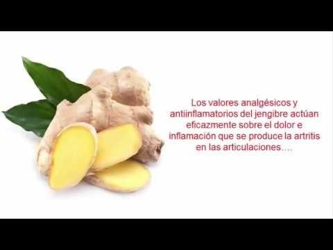 Como consumir el jengibre para la artritis