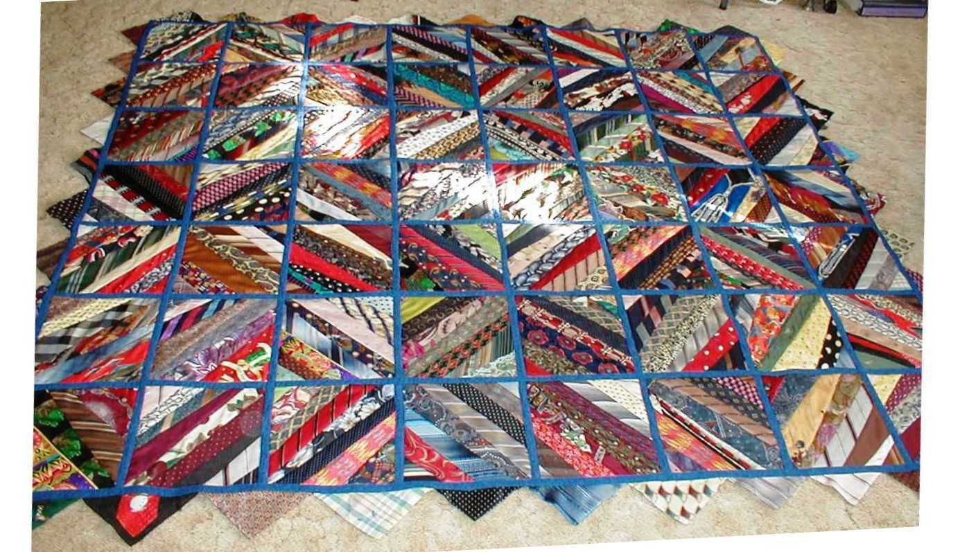 tie quilts patterns | Need quilt pattern to make a tie quilt ... : how to tie quilt - Adamdwight.com