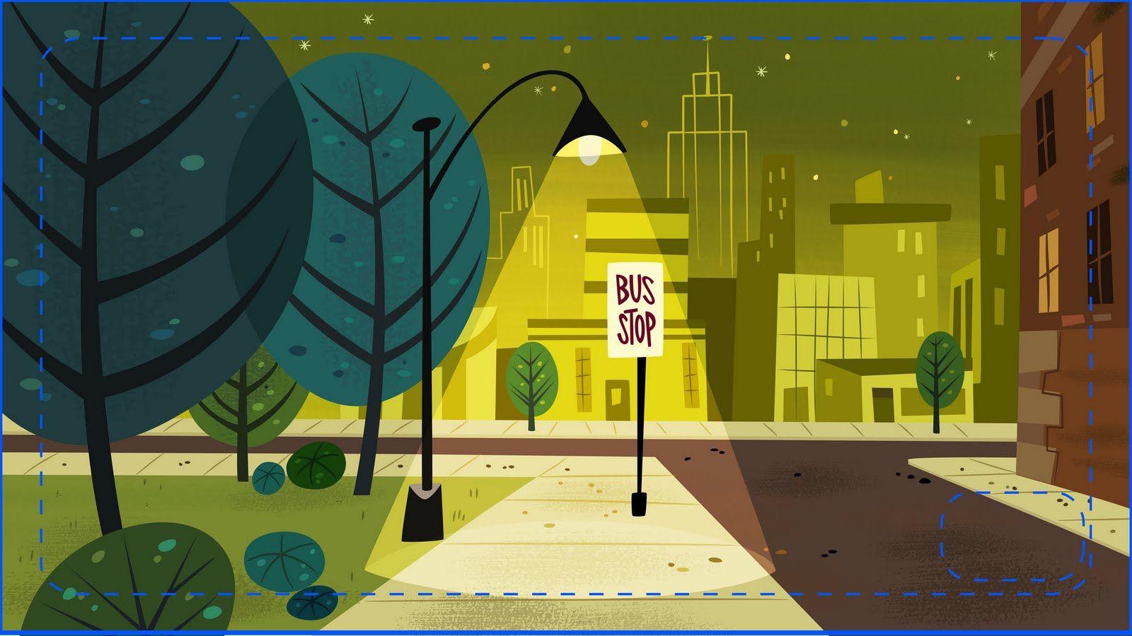 Cartoon concept design powerpuff girls painted for Mr art design