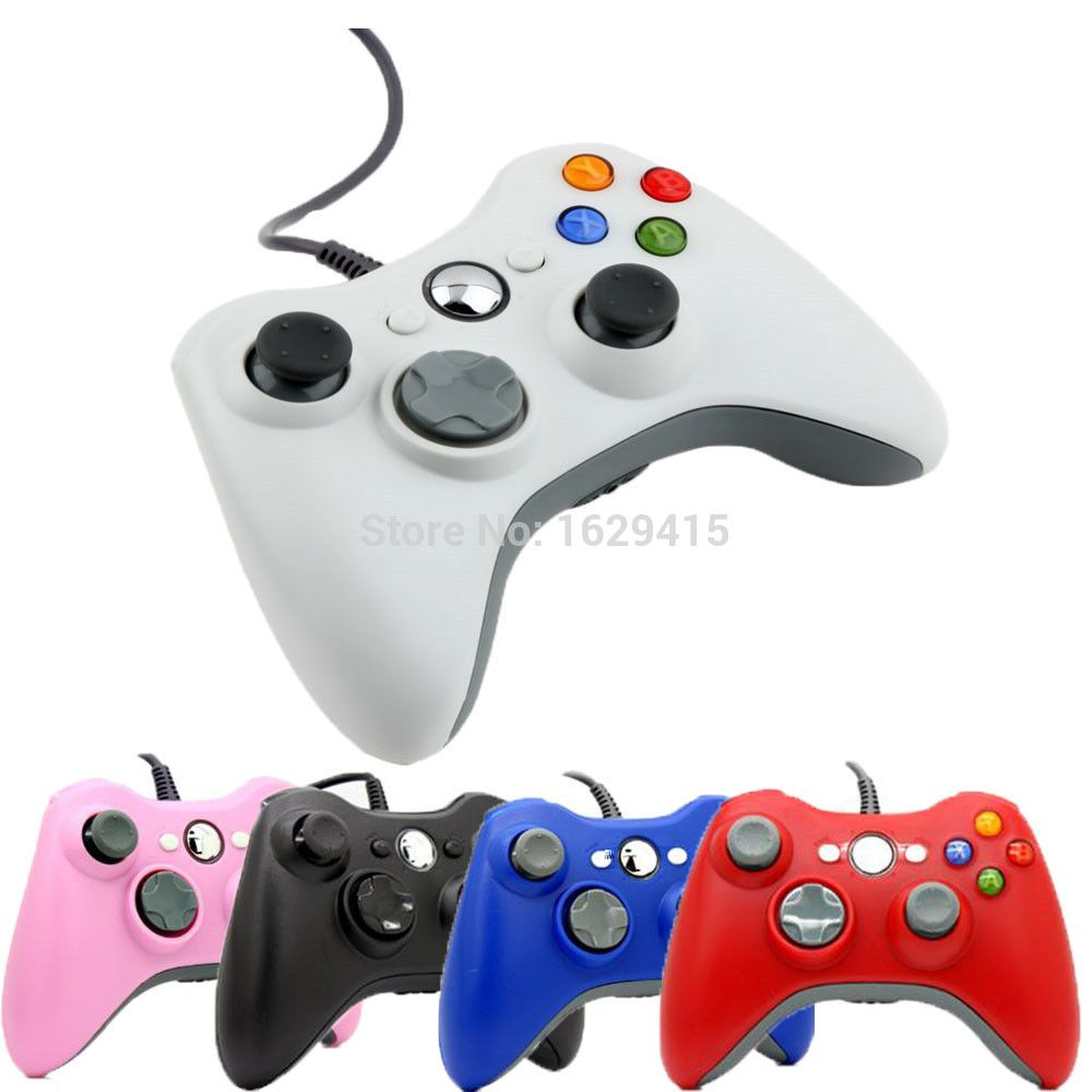 USB Wired Joypad Gamepad For Microsoft Xbox 360 Console Wired ...
