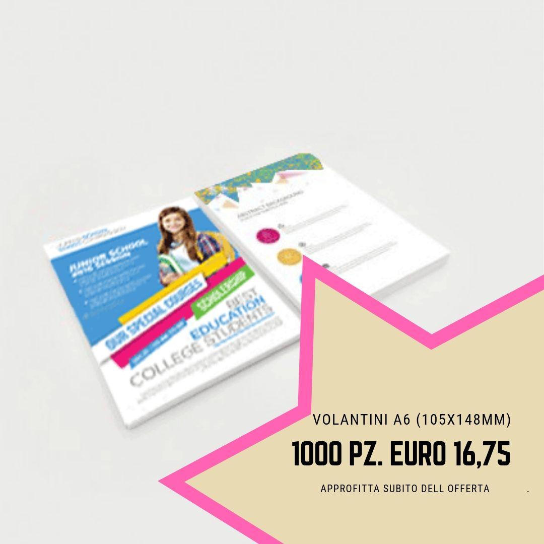 Sei Alla Ricerca Di Una Tipografia Per Stampare I Tuoi Flyer A6