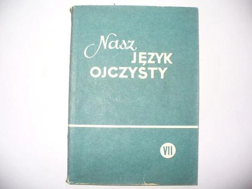 J Polski Kl Vii Gramatyka Ortografia Prl 8542381694 Oficjalne Archiwum Allegro Book Cover Books Cover