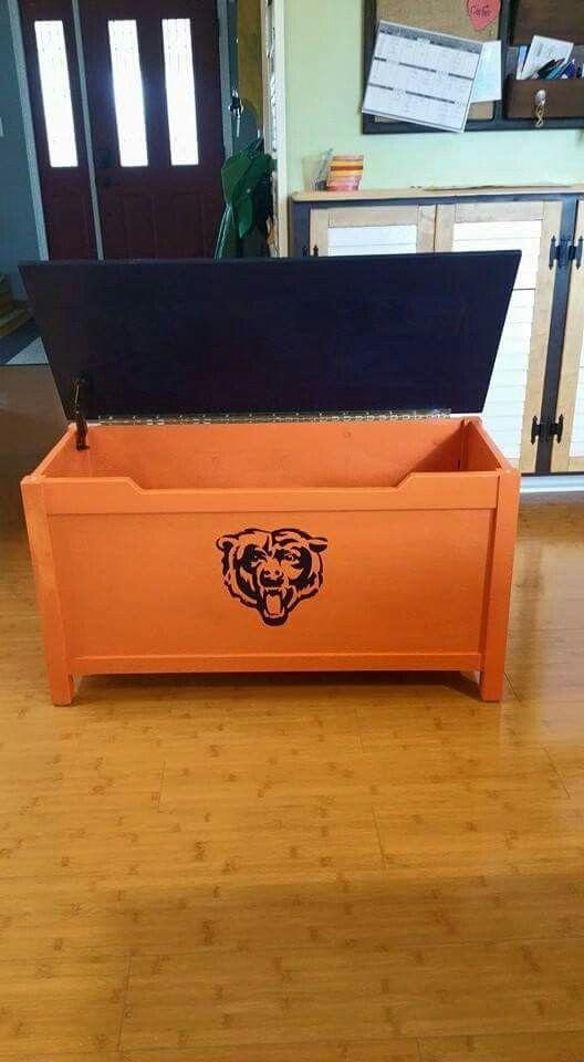 Chicago Bears Toy Chest Chicago Bears Pinterest