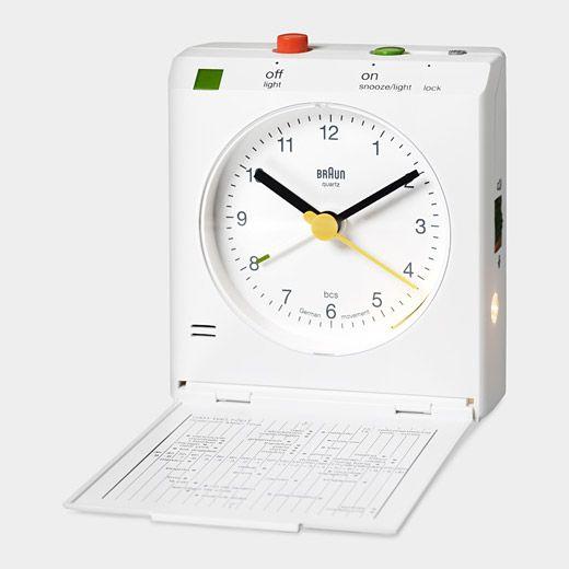 Braun Travel Alarm Clock Moma Store Travel Alarm Clock Clock Braun Clock