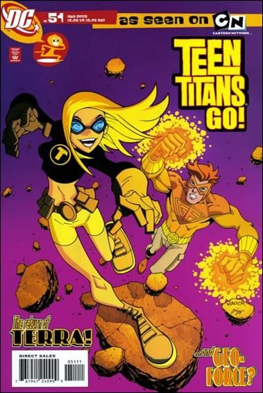 Terra Comics Teen Titans Go 2004 51 A By Dc Superheroes