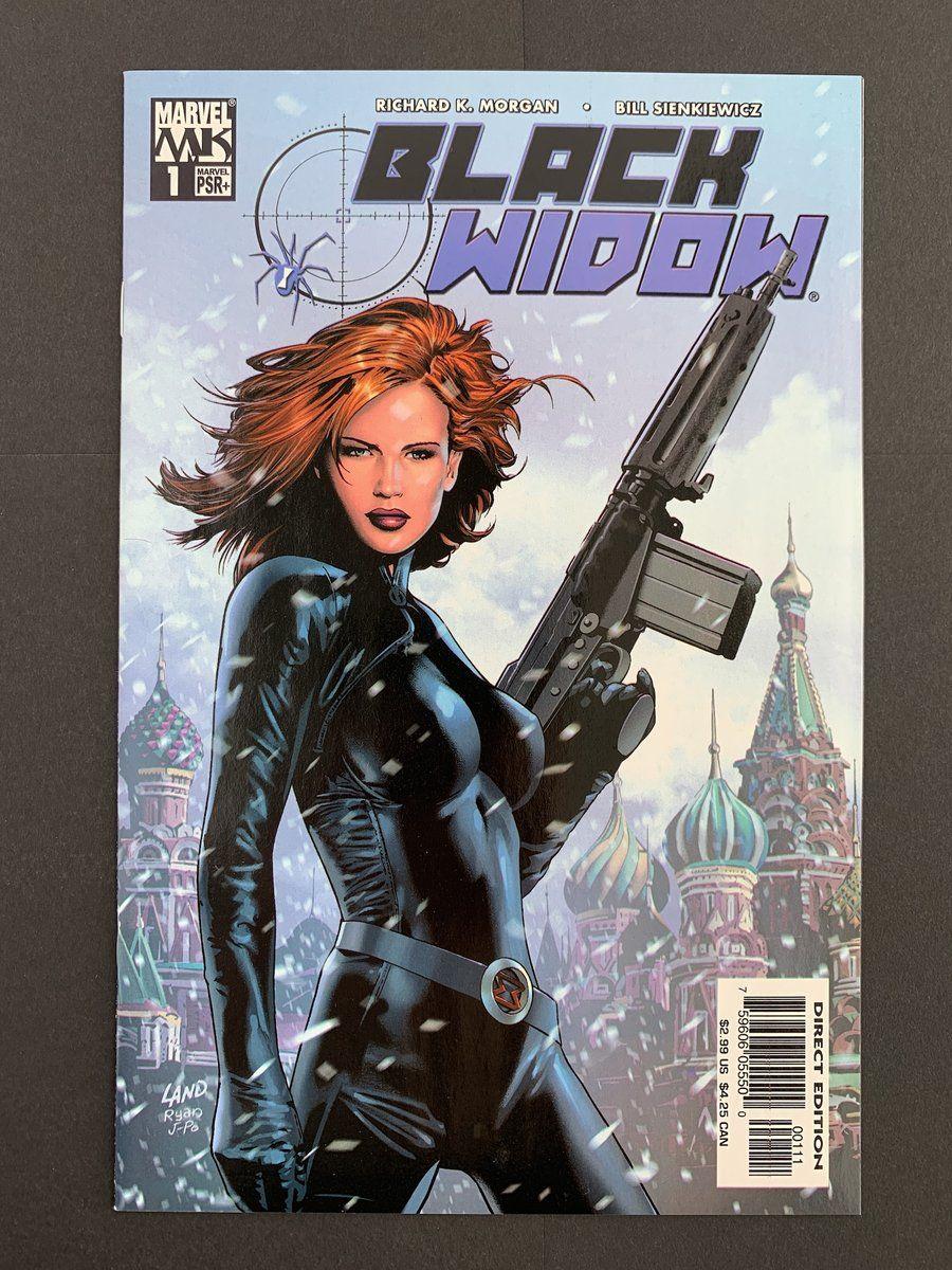 Black widow 2004 1 nm marvel comics covers comic