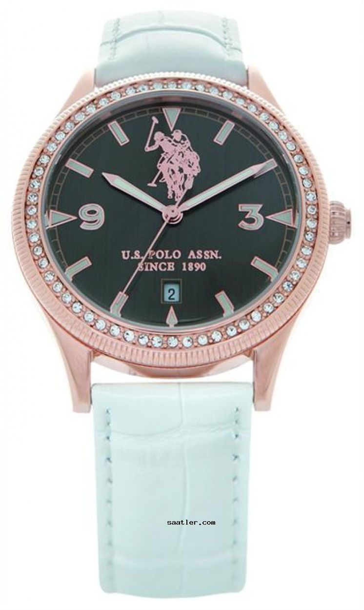 U S Polo Assn Usp5042rg Bayan Kol Saati Deri Polo Saatler