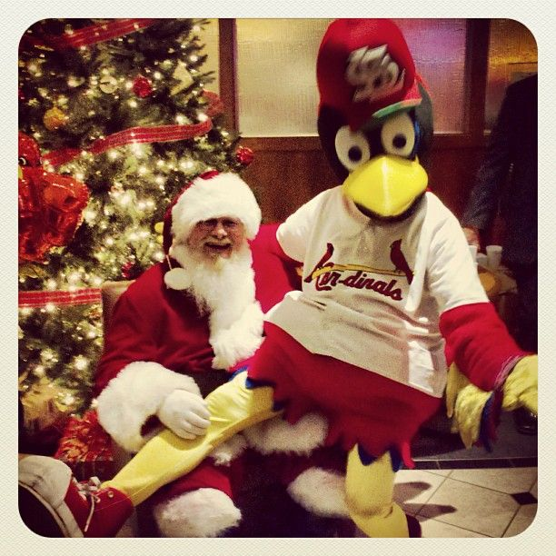 Image result for SANTA WITH/ FREDBIRD