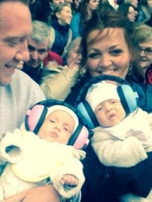 Louis Tomlinson's sister and brother Doris and Ernest