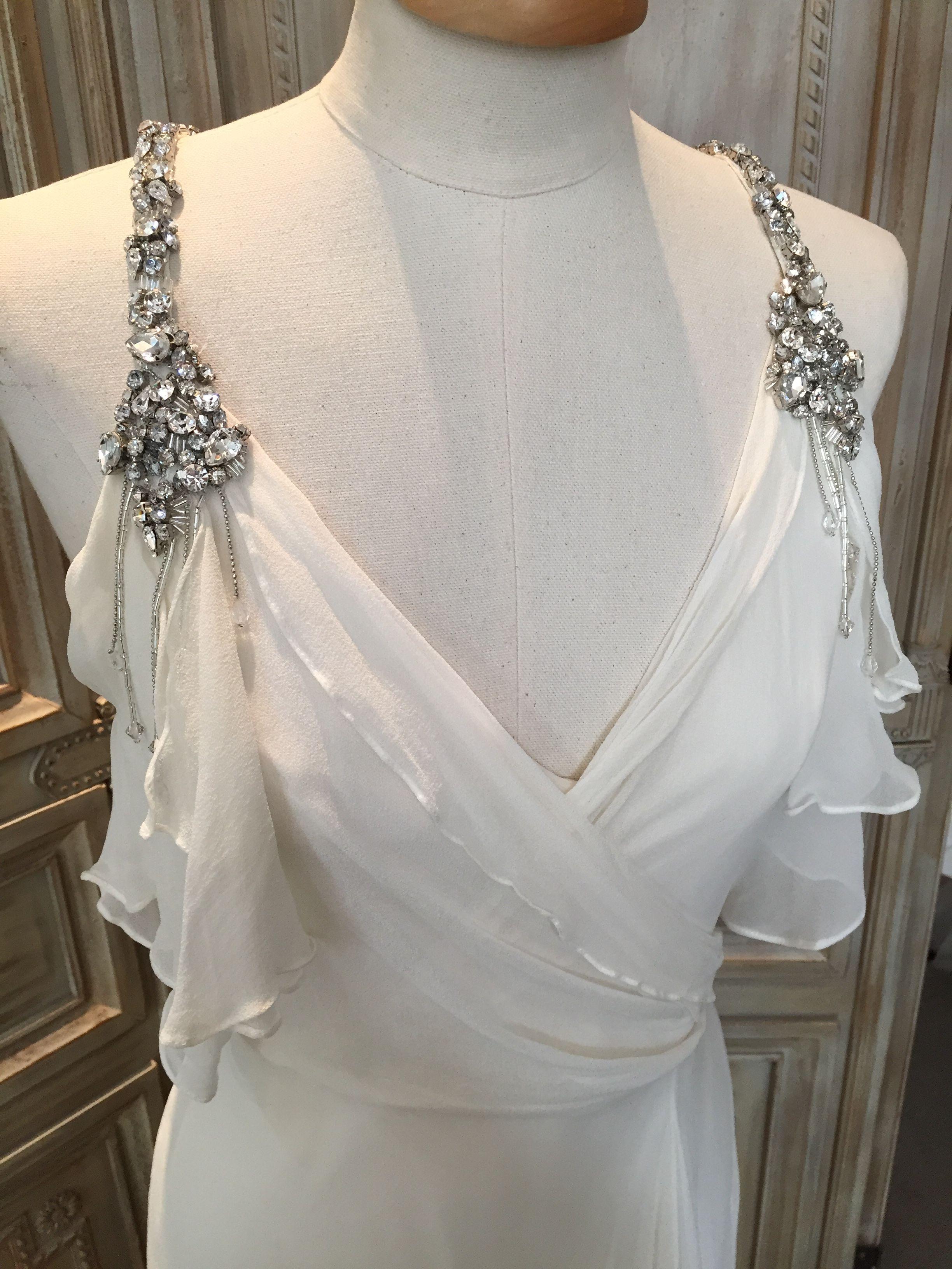 Jenny Packham \'Laurel\' #jennypackham #laurel #prelovedweddingdress ...