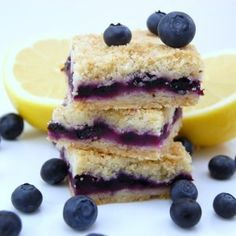 Easy Dessert Recipe for Blueberry Squares