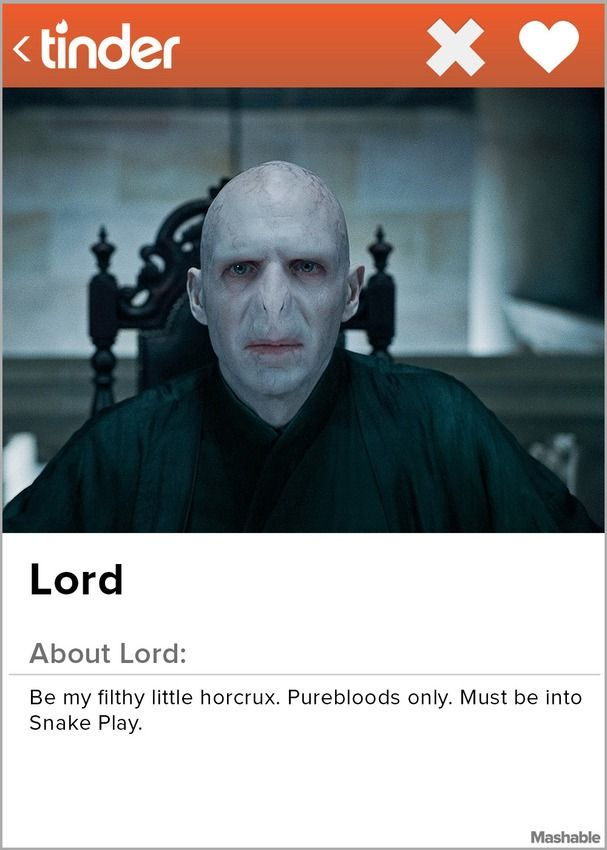 Swipe Your Wand Right on These 'Harry Potter' Tinder Profiles