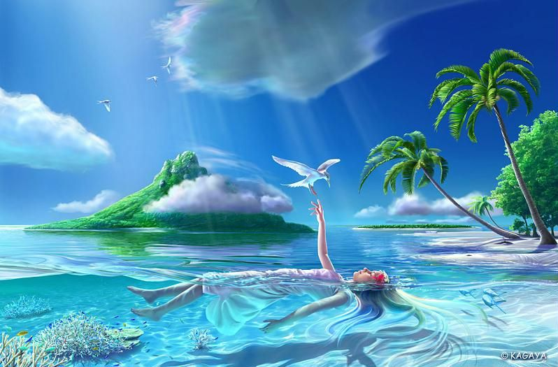 Tranquility By Kagaya 3d Nature Wallpaper Animation Desktop